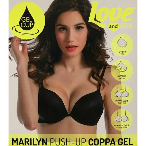 Love and Bra push-up coppa gel Marilyn colore Bianco